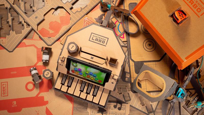 任天堂 LABO 编程:从入门到收购废纸皮